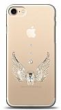 iPhone 7 / 8 Angel Death Taşlı Kılıf