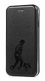 iPhone 7 / 8 Atatürk Kapaklı Siyah Kılıf