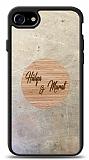iPhone 7 / 8 Kişiye Özel Çift İsim Doğal Mermer ve Bambu Kılıf