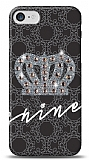 iPhone 7 Crown Shine Taşlı Kılıf