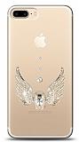iPhone 7 Plus / 8 Plus Angel Death Taşlı Kılıf