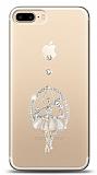 iPhone 7 Plus / 8 Plus Balerin Taşlı Kılıf