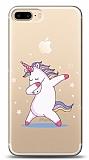 iPhone 7 Plus / 8 Plus Dab Unicorn Resimli Kılıf