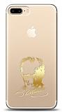 iPhone 7 Plus / 8 Plus Gold Atatürk Silüet Kılıf