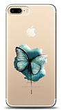 iPhone 7 Plus / 8 Plus Kelebek Kabartmalı Parlak Kılıf