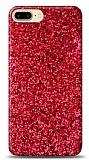 iPhone 7 Plus / 8 Plus Pullu Kırmızı Silikon Kılıf