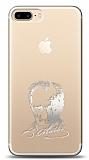 iPhone 7 Plus / 8 Plus Silver Atatürk Silüet Kılıf