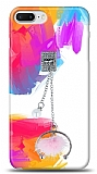 iPhone 7 Plus Cool Ponpon Taşlı Kılıf