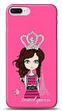 iPhone 7 Plus Travel Queen Taşlı Kılıf