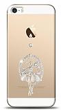 iPhone SE / 5 / 5S Balerin Taşlı Kılıf