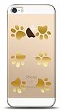 iPhone SE / 5 / 5S Gold Patiler Kılıf