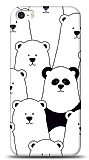 iPhone SE / 5 / 5S Lonely Panda Resimli Kılıf