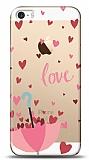 iPhone SE / 5 / 5S Love Umbrella Resimli Kılıf