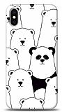 iPhone X / XS Lonely Panda Resimli Kılıf