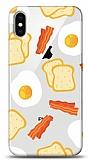 iPhone X / XS Breakfast Resimli Kılıf