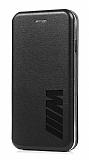 iPhone X / XS Mpower Kapaklı Siyah Kılıf