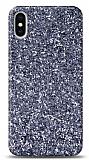 iPhone X / XS Pullu Gri Silikon Kılıf