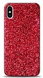 iPhone X / XS Pullu Kırmızı Silikon Kılıf