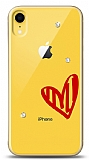 iPhone XR 3 Taş Love Kılıf