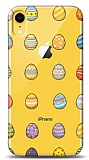 iPhone XR Yumurtalar Resimli Kılıf
