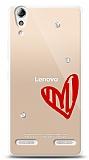 Lenovo A6000 3 Taş Love Kılıf