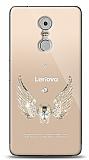 Lenovo K6 Note Angel Death Taşlı Kılıf
