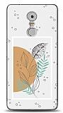 Lenovo K6 Note Minimal Taşlı Yaprak Kılıf