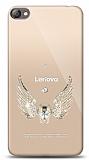 Lenovo S60 Angel Death Taşlı Kılıf