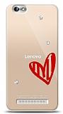 Lenovo Vibe C A2020 3 Taş Love Kılıf