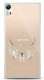 Lenovo Vibe Shot Angel Death Taşlı Kılıf