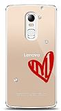Lenovo Vibe X3 3 Taş Love Kılıf