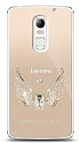 Lenovo Vibe X3 Angel Death Taşlı Kılıf