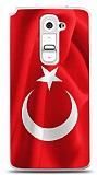 LG G2 Türk Bayrağı Kılıf