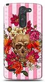 LG G3 Stylus Roses Skull 2 Kılıf