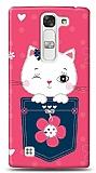 LG G4c Pink Cat Kılıf