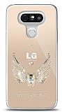 LG G5 Angel Death Taşlı Kılıf