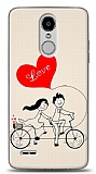 LG K10 2017 Love Bike Couple Kılıf