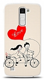 LG K10 Love Bike Couple Kılıf