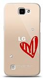 LG K4 3 Taş Love Kılıf