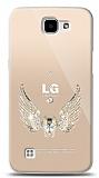 LG K4 Angel Death Taşlı Kılıf