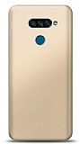 LG K50S Gold Mat Silikon Kılıf