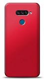 LG K50S Kırmızı Mat Silikon Kılıf