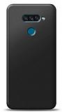 LG K50S Siyah Mat Silikon Kılıf