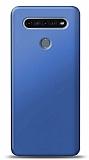 LG K51S Lacivert Mat Silikon Kılıf