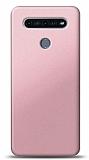 LG K51S Rose Gold Mat Silikon Kılıf