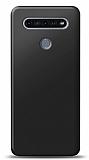 LG K51S Siyah Mat Silikon Kılıf
