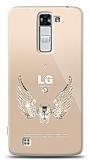 LG K7 Angel Death Taşlı Kılıf