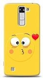 LG K7 Öpücük Emoji Kılıf