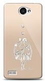 LG L Bello 2 Balerin Taşlı Kılıf