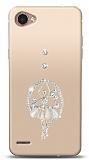 LG Q6 Balerin Taşlı Kılıf